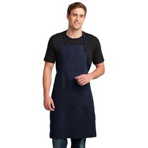 Port Authority® Easy Care Extra Long Bib Apron w/ Stain Release
